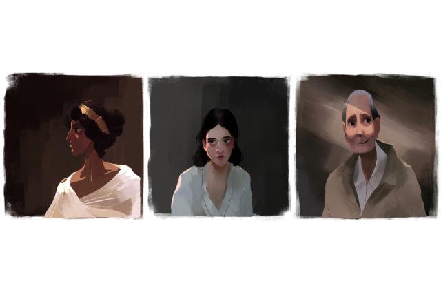 Carbon Portraits
